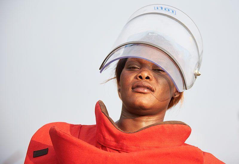Minerydder Sydsudan
