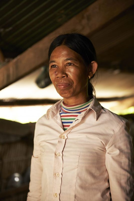 Kvinde i Cambodja
