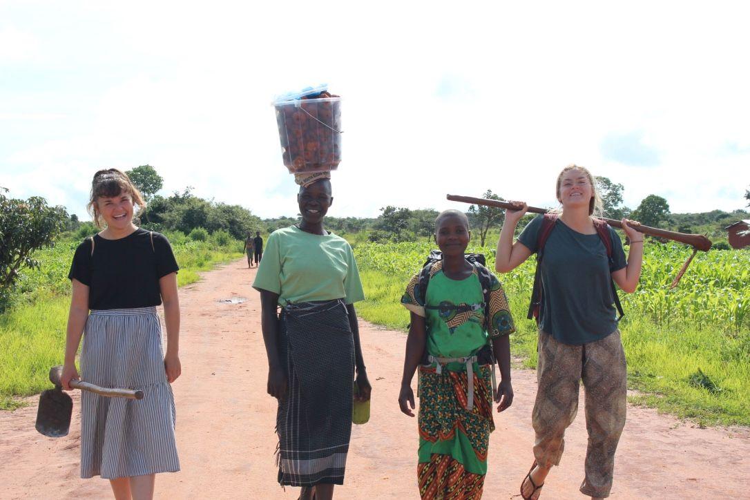 Gåtur i malawi - Silkeborg Højskole