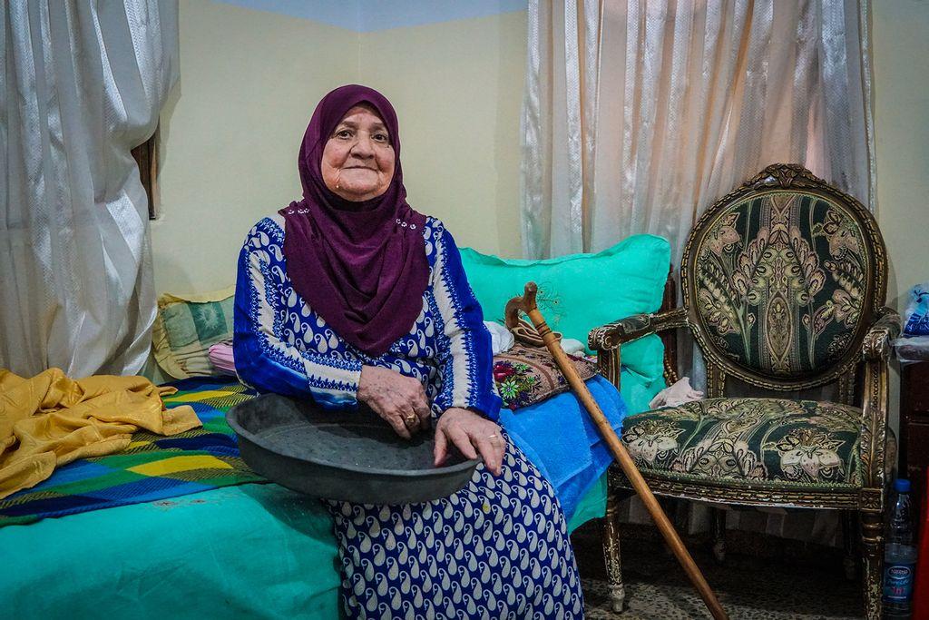 Palæstinensisk flygtning i Libanon Amina Al Masri