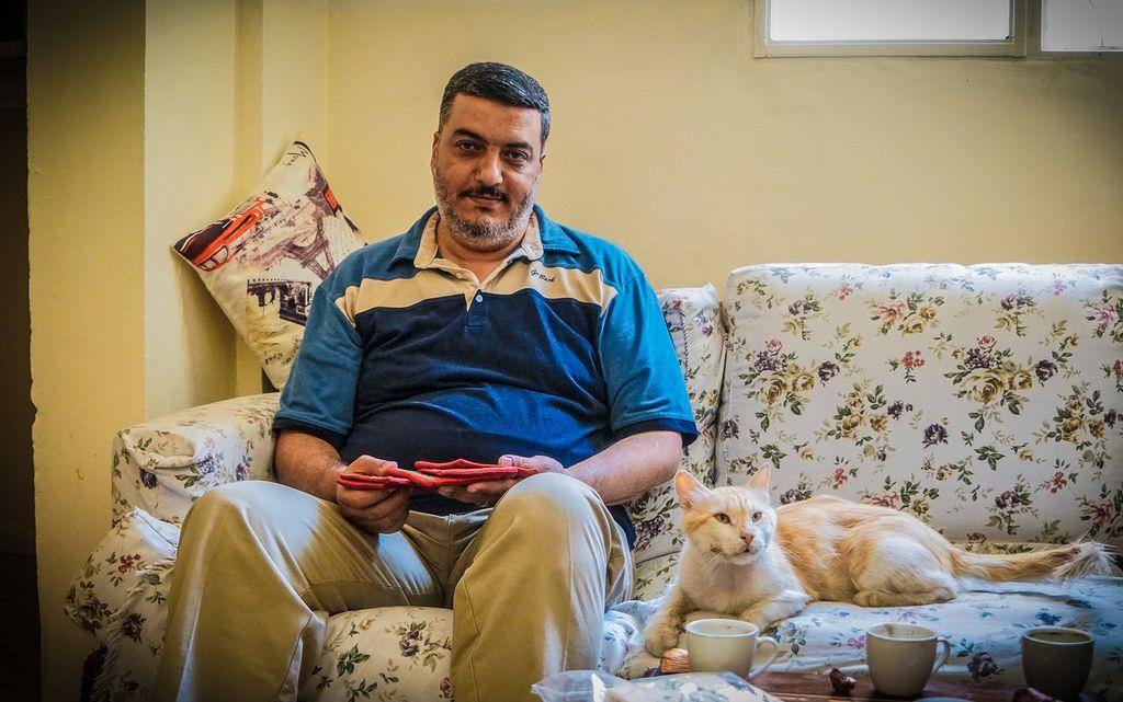 Palæstinensisk flygtning i Libanon Samer Ahmad