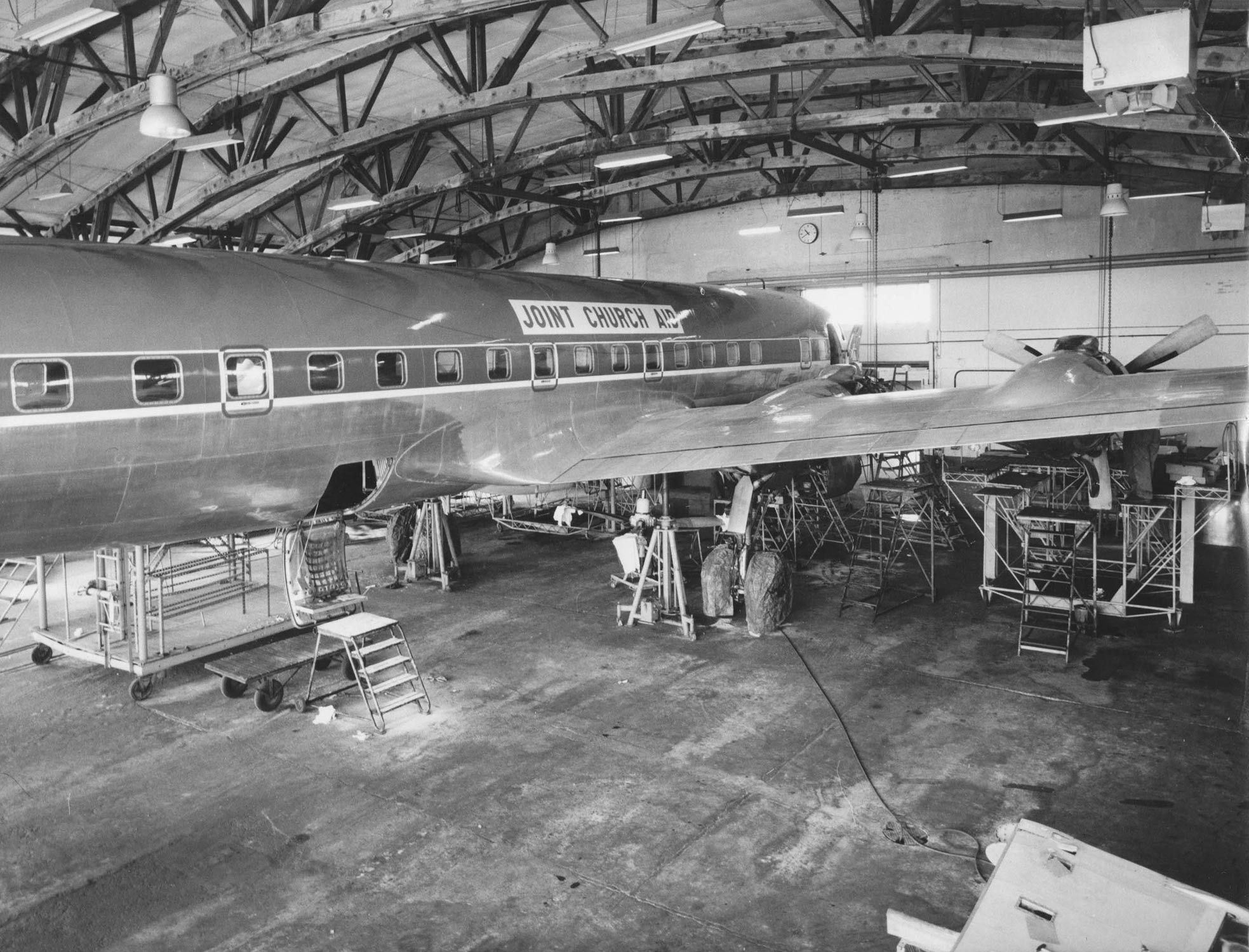 JCA Fly under Biafrakrigen
