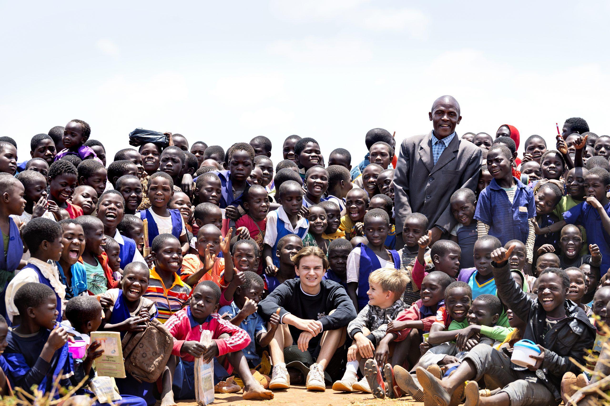 Annette Heick og familie i Malawi