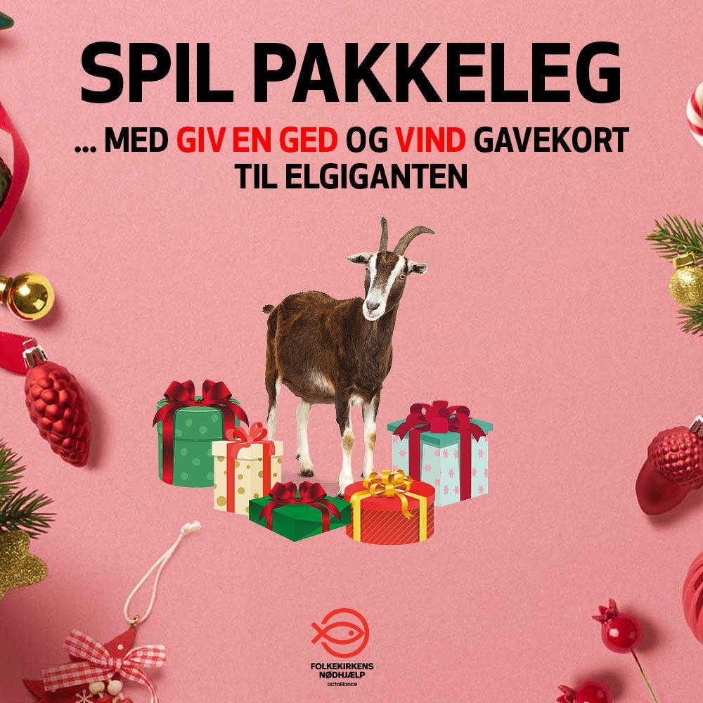 Giv en ged og vind et gavekort til Elgiganten
