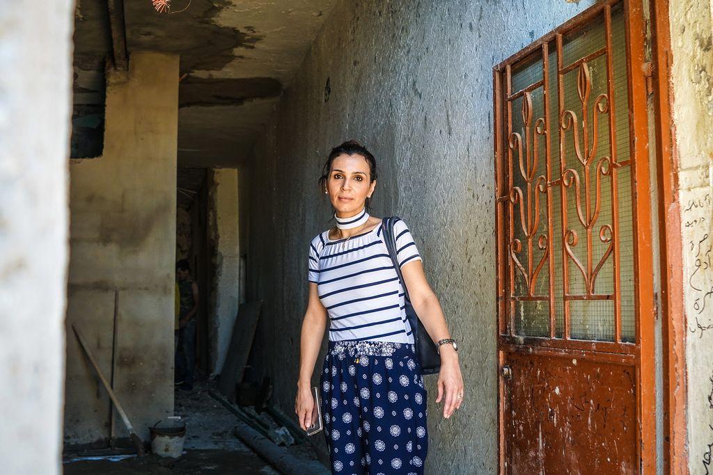 Palæstinensisk flygtning i Libanon Hala Marie