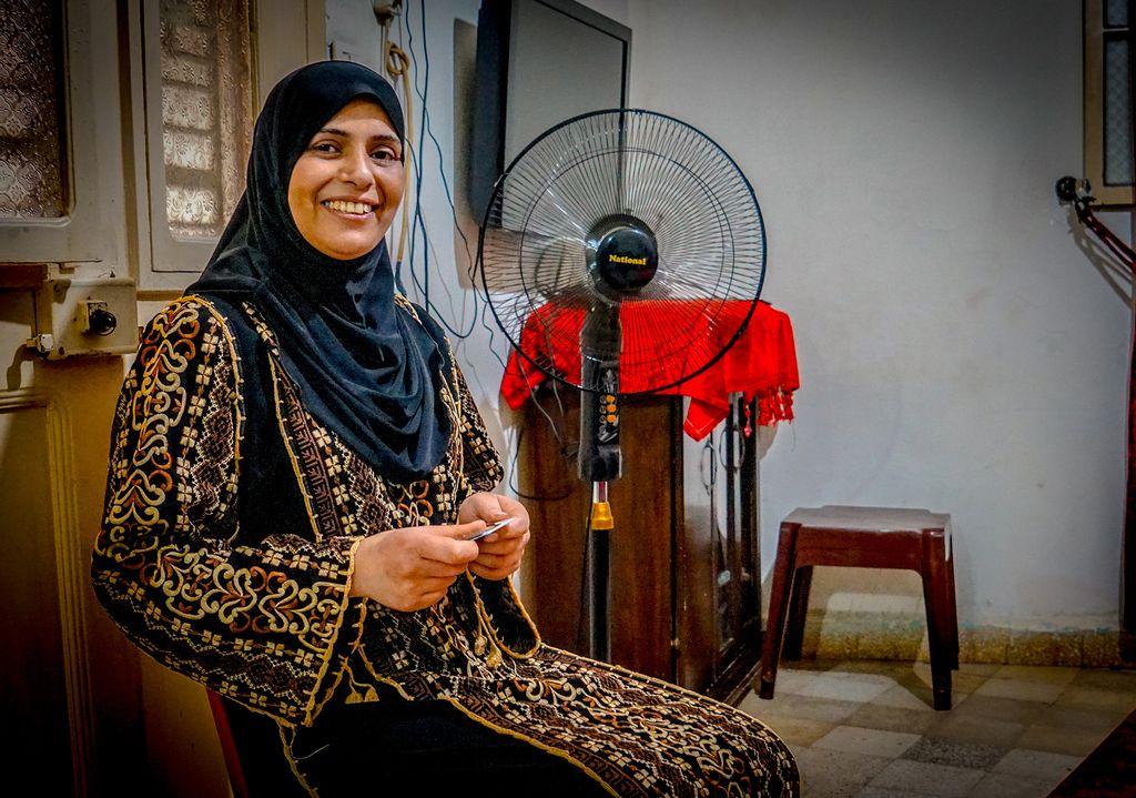 Palæstinensisk flygtning i Libanon Laila Ahmed Sabouti