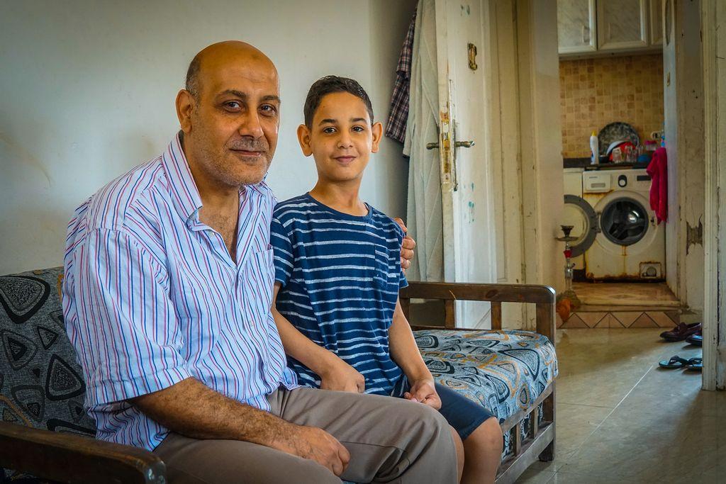 Palæstinensisk flygtning i Libanon Hossam Ali