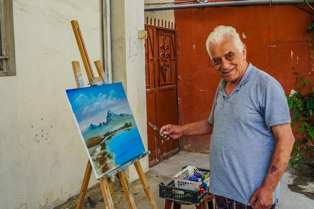 Palæstinensisk flygtning i Libanon Mustafa Ahmad