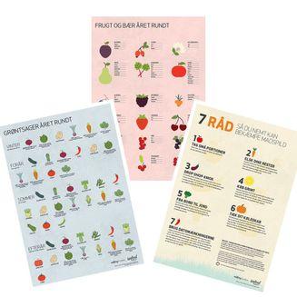 3 madspildsplakater til download
